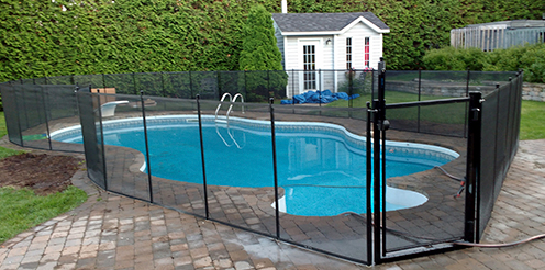 Clôture amovible pour piscine